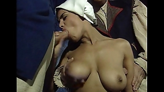Dalila slave, in a threesome