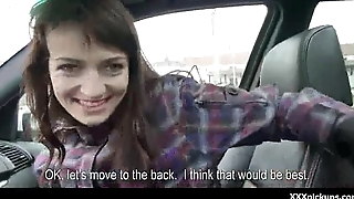 Sexy babes get picked up on get under one's streets for a good fuck 18