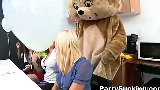 Deep Throat Party with Sorority Teens
