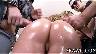 Hairy cum-hole acquires hard be crazy